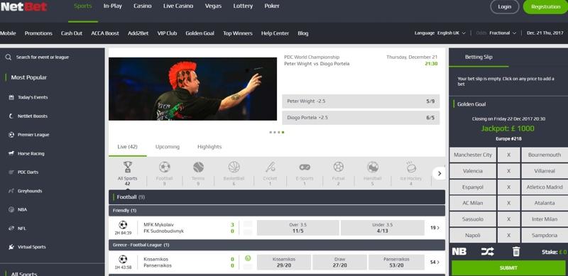 NetBet Website