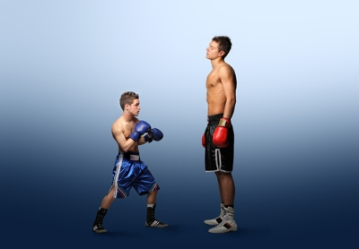 Boxing Size Difference