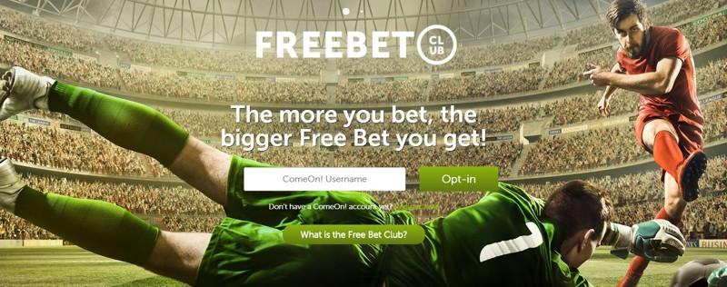 ComeOn Free Bet