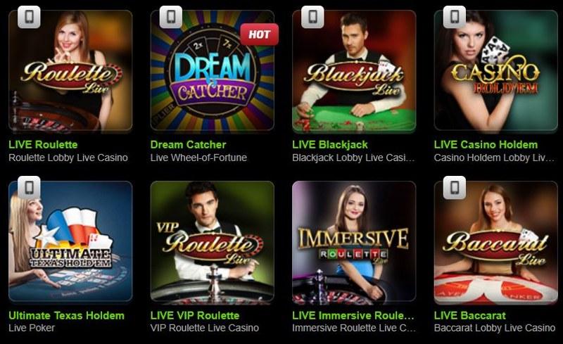 MobileBet Live Casino