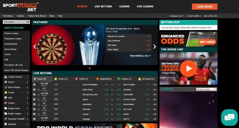 Sport Nation Website