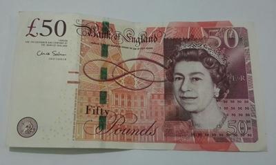 50 Pound Note