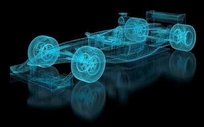 F1 Car Mesh
