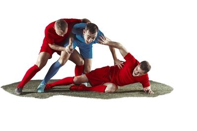 Football Foul Tackle