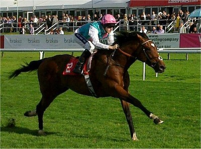 Frankel Winning at Doncaster