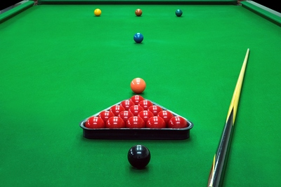 Snooker Table Set Up