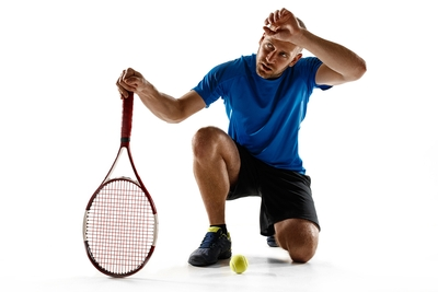 Tennis Player Defeated